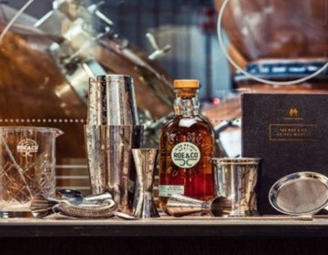 Roe & Co Whiskey - 20% off premium cocktail bar-ware & merchandise