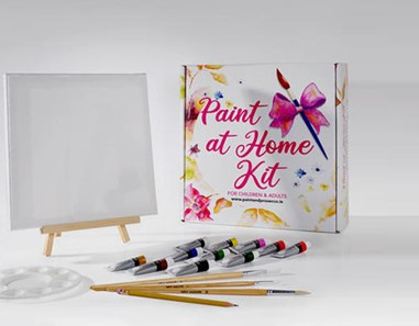 Paint & Prosecco - 10% off 'At Home Kits'