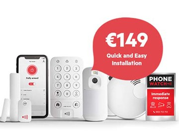 PhoneWatch Home Safety System Installation for €149 (RRP €299)